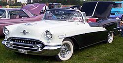 1955 Oldsmobile 98 convertible