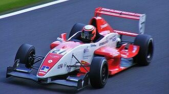 Oliver Webb - Webb competing during the 2009 Formula Renault UK season at Oulton Park.