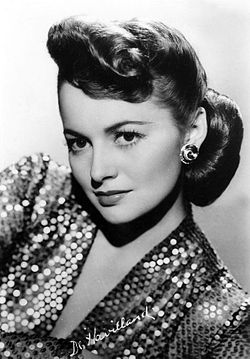 Olivia de Havilland, cirka 1945.
