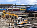 Olomouc main station reconstruction 2014 05.JPG