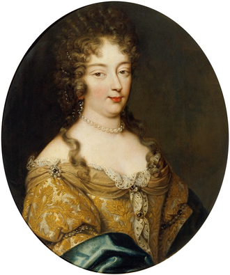 Olympia Mancini, Countess of Soissons - Portrait by Mignard
