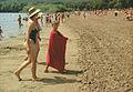 On the beach - 1 (early 2000-ies). (8034877376).jpg