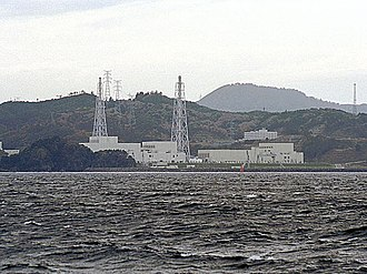 Environmental impact of electricity generation - The Onagawa Nuclear Power Plant - a plant that cools by direct use of ocean water, not requiring a cooling tower