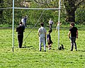 One form of exercise social distancing Tottenham style Covid-19 pandemic 14.jpg
