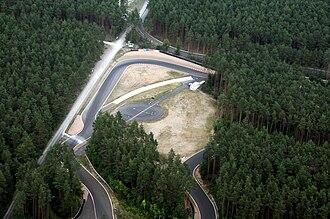 General Motors Proving Grounds - Opel test track in Dudenhofen