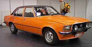 Opel Commodore - Image: Opel Commodore vr orange TCE
