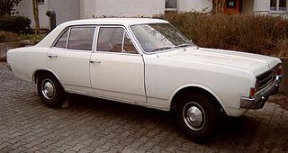 Opel Rekord Series C Motor vehicle