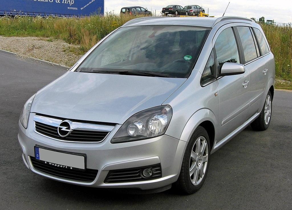 File:Opel Zafira B 20090713 front.JPG - Wikipedia, the free ...
