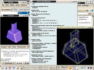 Open Cascade Technology - Image: Opencascadedemo