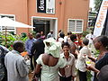 Opening of the Espace WikiAfrica in Douala 26.JPG