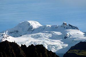 Hvannadalshnúkur - Image: Oraefajokull Vatnajokull National Park
