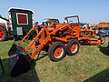 Orange Allis-Chalmers greader with Tractoloader pic2.JPG