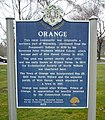 Orange CT historic marker.jpg