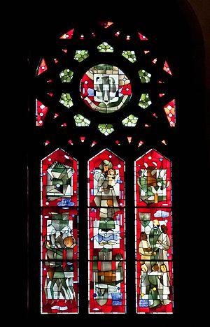 Marius Plamondon - Window in Saint Joseph's Oratory, Montreal