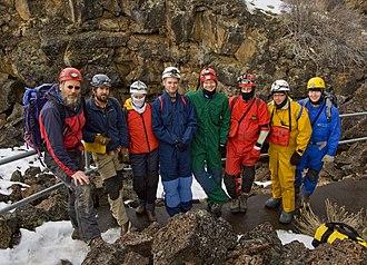Oregon High Desert Grotto - Image: Oregon High Desert Grotto members