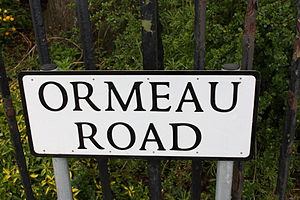 Ormeau Road - Ormeau Road, May 2010