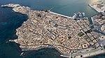 Ortigia dall'alto - Luftpanorama von Syrakus.jpg