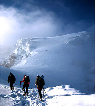 Ortler - Image: Ortler Ascent South Tyrol