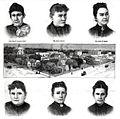 Oskaloosa Kansas mayor and council 1888.jpg