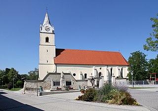 Oslip Place in Burgenland, Austria