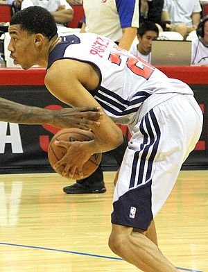 Otto Porter - Porter playing for the Wizards in the 2013 Las Vegas Summer League