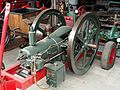 Oude stationaire motor in het MUSEUM voor NOSTALGIE en TECHNIEK, Dorpsstraat 38, Langenboom pic9.JPG