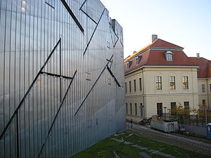 Jewish Museum, Berlin - Outside of the Jewish Museum view