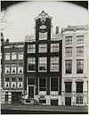 overzicht gevel grachtenhuis met gevelsteen smirna - amsterdam - 20319385 - rce
