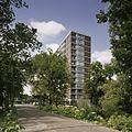 Overzicht met begroeiing op de voorgrond - Rotterdam - 20389100 - RCE.jpg