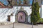 Pörtschach Leonsteinerstraße 1 Schloss Leonstein Süd-Portal 07042019 6364.jpg