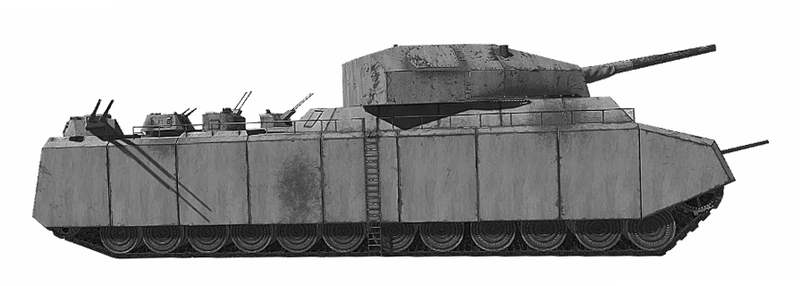 File:P1000 ratte scale model.png Description English: P1000 ratte scale model Date29 October 2018 Sourcehttps://www.flickr.com/photos/143457098@N07/44892172364/in/dateposted-public/ AuthorAuthor
