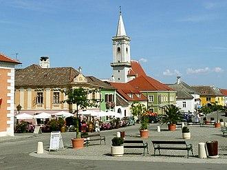 Rust, Burgenland - Main square in Rust