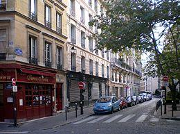 rue des foss s saint jacques wikimonde. Black Bedroom Furniture Sets. Home Design Ideas