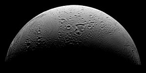 PIA08409 North Polar Region of Enceladus