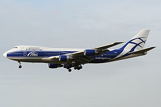 AirBridgeCargo - A now retired former AirBridgeCargo Boeing 747-200F