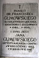 POL Krościenko nD - All Saints Church - com plaque 3.JPG
