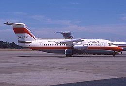 PSA BAe 146-200; N356PS, July 1986 CBG (4848643600).jpg