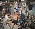 Padalka Fincke ISS ultrasound.jpg