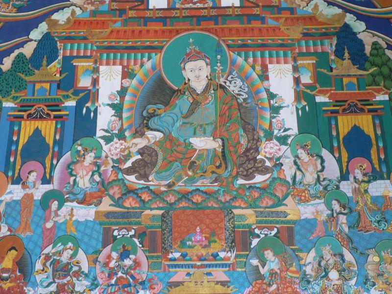 Image:Padmasambhava, Trongsa dzong.jpg