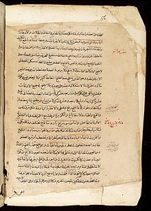 Page from an Arabic Text Wellcome L0033682.jpg