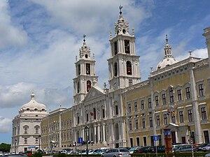 Palácio Nacional de Mafra em 2005