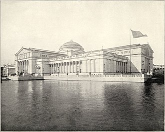 Charles B. Atwood - The Palace of the Fine Arts, designed by Atwood for the World's Columbian Exposition