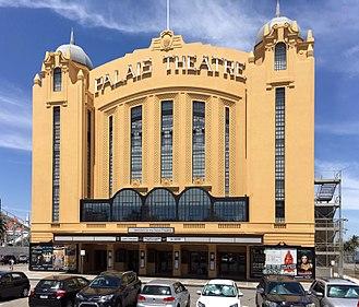 Palais Theatre - Exterior view of the restored venue (c.2018)