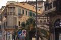 Palazzetto Coppedé dall'angolo arrontondato all'incrocio con la via Cardines 2016 (Gino Coppedè) , Palazzo del Granchio.png