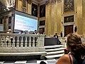 Palazzo Ducale (Genova) Salone del Maggior Consiglio durante convegno su Tortura 2016.jpg