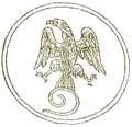 Palermo-Moneta Romana (Annali della Felice città di Palermo).png