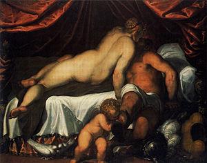 Palma il Giovane - Image: Palma il Giovane Venus und Mars