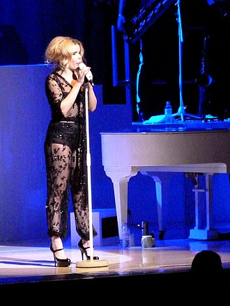 Paloma Faith - Faith in concert at the Liverpool Empire Theatre in 2014.