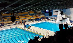 Diving at the 2015 Pan American Games - The CIBC Pan Am/Parapan Am Aquatics Centre and Field House in Toronto, was the venue for the diving competitions