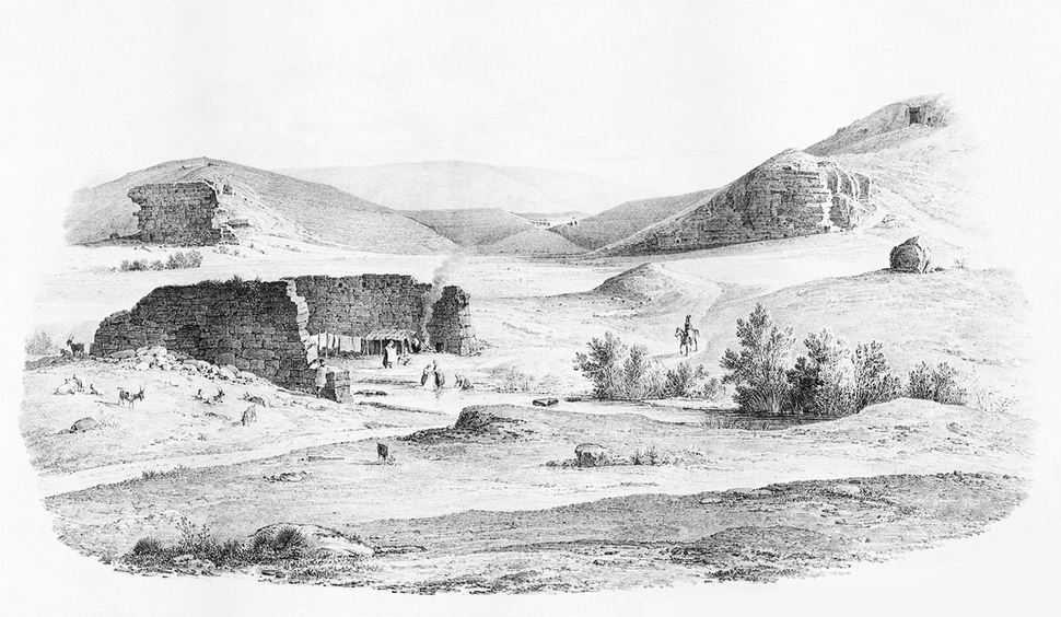 Panathenaic stadium 1835